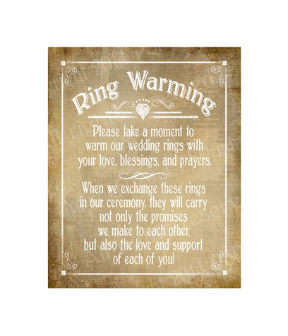 Ring Warming Ceremony Script Marry Me In Indy LLC