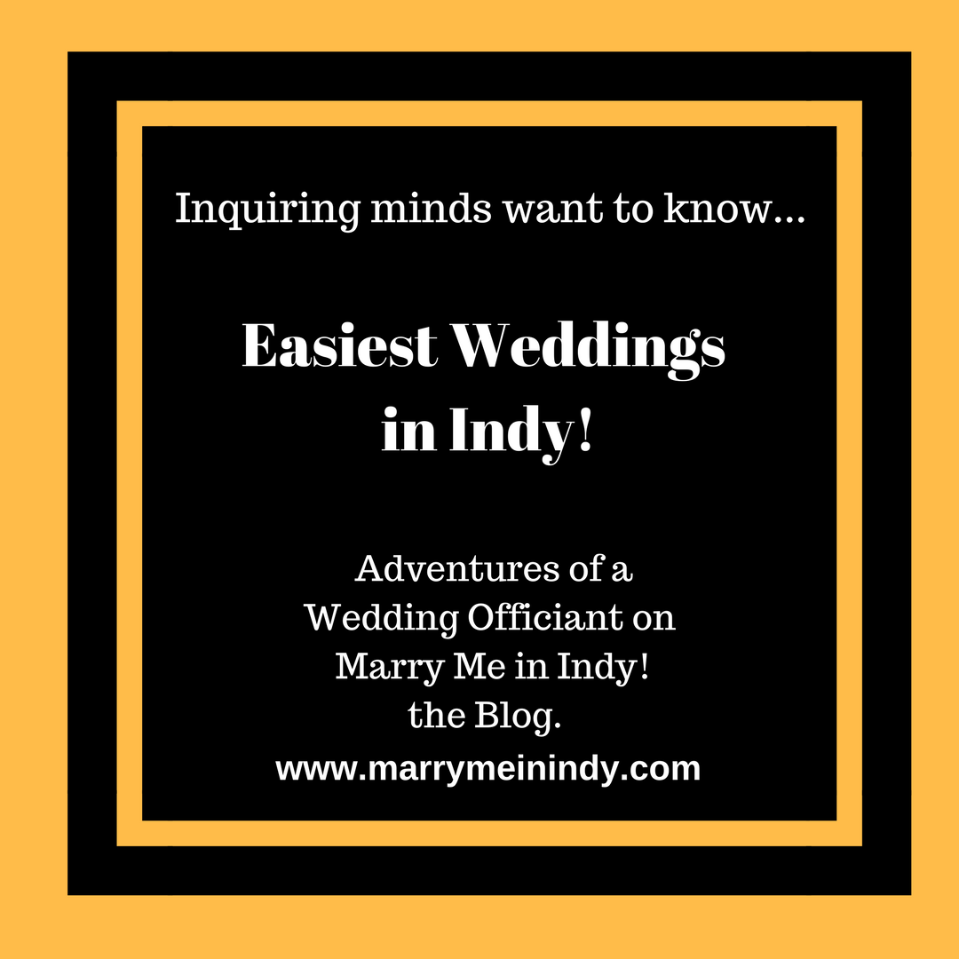 Easiest Weddings In Indy!  Marry Me In Indy! Your Wedding Officiant in Indianapolis