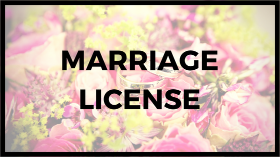 How to get a marriage license. Indianapolis wedding officiant services